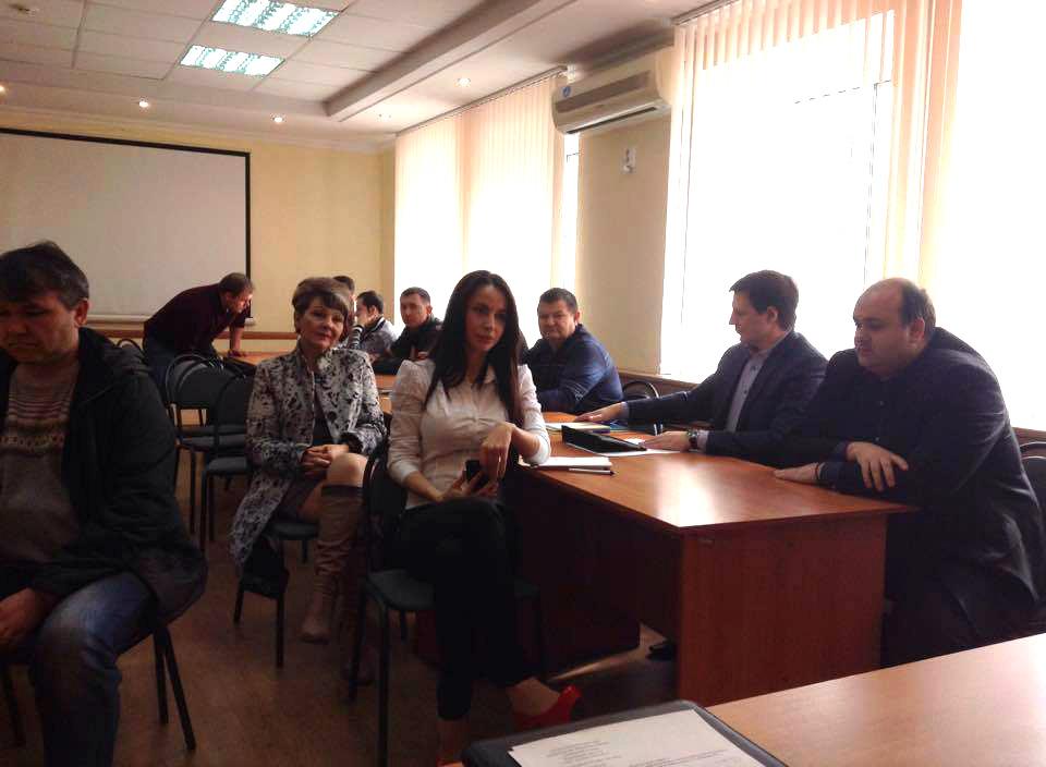 Сергей Хомяков посетил г. Донецк Ростовской области