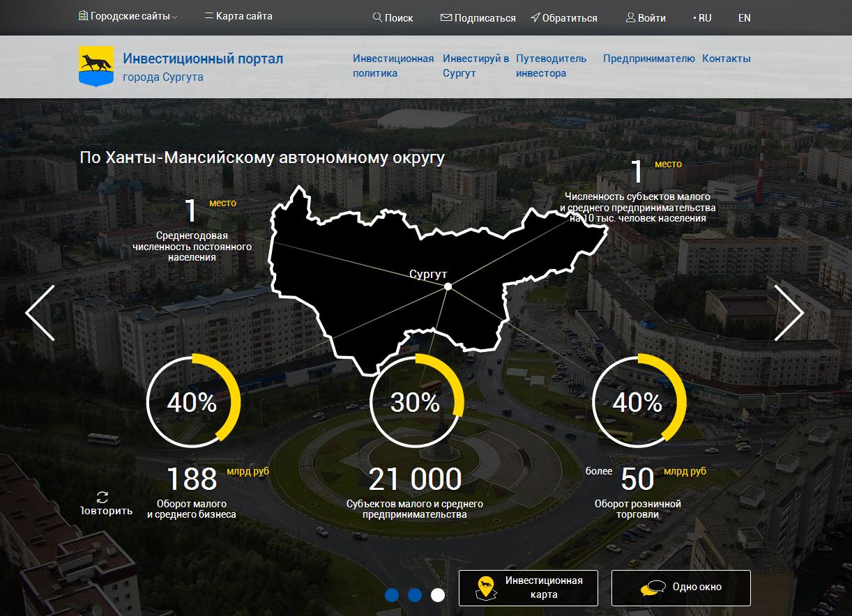 Инвестиционный портал города Сургута